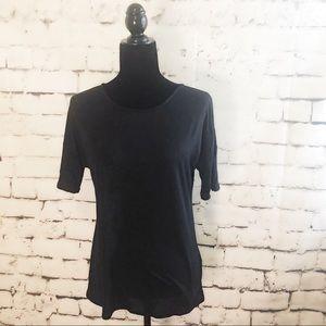 NWT PHILOSOPHY Black Short Sleeve T Shirt SIZE S